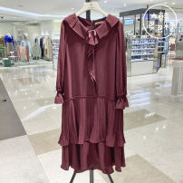 Dress Spring 2020 Wi purchasing, black BK purchasing 55-160-s,66-165-m Other / other C203PSE053