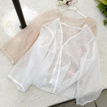 Lace / Chiffon Summer of 2018 Apricot, black, white Average size