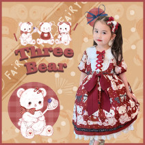 Dress female Other / other 110cm,120cm,130cm,140cm,150cm Polyester 100% Chiffon Princess Dress A11 2, 3, 4, 5, 6, 7, 8, 9, 10, 11, 12, 13, 14 years old