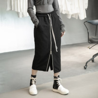 skirt Winter 2020 S,M,L black longuette commute Natural waist skirt Solid color Type H 18-24 years old SQ-6180 71% (inclusive) - 80% (inclusive) Wool Simple BLACK cotton pocket Korean version 201g / m ^ 2 (including) - 250G / m ^ 2 (including)