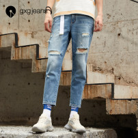 Jeans Youth fashion gxg.jeans 165/S 170/M 175/L 180/XL 185/XXL trousers Cotton 100% summer youth 2020 zipper washing Summer 2020 Same model in shopping mall (sold online and offline)