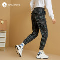 Casual pants gxg.jeans Youth fashion Black green 165/S 170/M 175/L 180/XL 185/XXL routine trousers Other leisure easy No bullet JY102133E autumn youth Youthful vigor 2019 middle-waisted Polyester 67.2% viscose (viscose) 32.8% polyester fiber Autumn of 2019 50% (inclusive) - 69% (inclusive)