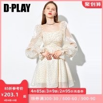 Dress Spring 2021 Big swing skirt - big swing skirt in stock - big swing skirt in April 12 - fishtail skirt in April 20 - fishtail skirt in stock - fishtail skirt in April 15 - shirt in stock - shirt in April 24 - black in 20 days S M L XL Short skirt singleton  Long sleeves commute other High waist