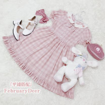 Lolita / soft girl / dress February deer Girl Dress L,M,S Summer, spring and Autumn Customized Classical, Lolita, pastoral