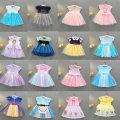 Dress female Other / other 90cm,100cm,110cm,120cm,130cm Other 100% spring and autumn princess Short sleeve Cartoon animation Pure cotton (100% cotton content) A-line skirt Class B 18 months, 2 years old, 3 years old, 4 years old, 5 years old, 6 years old, 7 years old, 8 years old