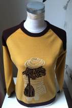 sweater Spring 2017 155/80A,160/84A Picture color Long sleeves Socket singleton  Regular wool 95% and above Crew neck Thin money Sweet routine Solid color Straight cylinder Regular wool Keep warm and warm 25-29 years old Soneed wool Single breasted