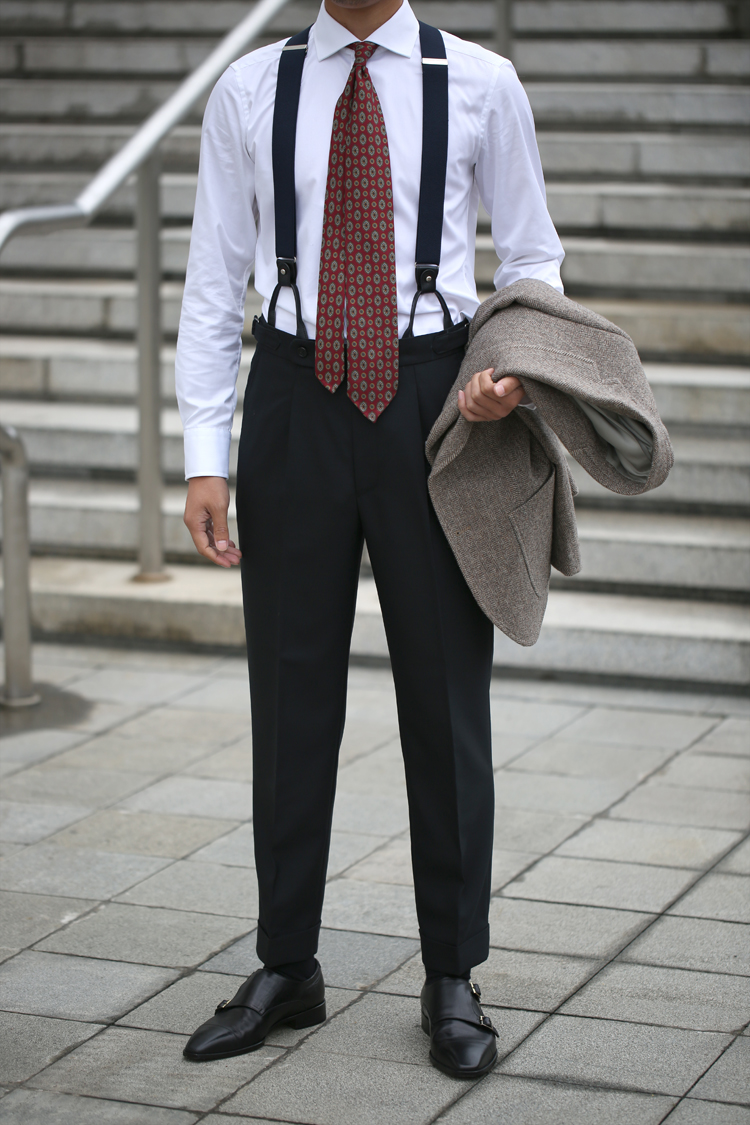 Western-style trousers Simon Lynch Business gentleman Black, dark grey S. M, l, XL, 2XL, double 11 orders will be issued within 20 days trousers easy winter youth