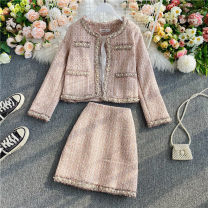 Fashion suit Autumn 2020 M, L Grey, pink 18-25 years old 30% and below