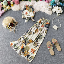 Fashion suit Summer 2020 S,M,L,XL Apricot 18-25 years old 30% and below polyester fiber