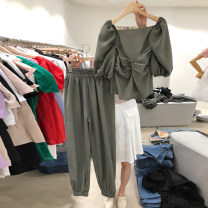 Fashion suit Summer 2021 S,M,L,XL Dark green, black, light pink 18-25 years old 96% and above