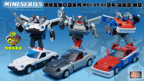Transformers zone Over 14 years old steel Autobots goods in stock 10cm police car 01-03