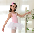 Children's performance clothes Green + white, pink + white female Size 5 is 90-100cm, size 7 is 100-110cm, size 9 is 110-120cm, size 11 is 120-130cm, size 13 is 130-140cm, size S is 140-145cm, size M is 145-155cm Other / other Class A Ballet 14, 13, 12, 11, 10, 9, 8, 7, 6, 5, 4, 3, 2, 18, 12 months