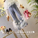 trousers Other / other female Hang tag size 7 (suitable for height about 100cm), hang tag size 9 (suitable for height about 110cm), hang tag size 11 (suitable for height about 120cm), hang tag size 13 (suitable for height about 130cm), hang tag size 15 (suitable for height about 135cm) Ninth pants