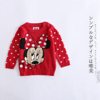 Sweater / sweater 0-3M,3-6M,6-9M other female Minnie sweater Other / other Cartoon Socket Cartoon animation Three months, six months, nine months