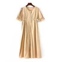 Dress Summer 2020 Khaki M