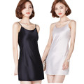 Dress Spring 2021 White, black, nude S,M,L,XL,2XL Short skirt singleton  Sleeveless commute One word collar low-waisted Solid color Socket One pace skirt other camisole 25-29 years old Korean version other other