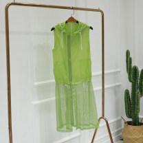Vest Summer of 2018 Green-1, white-2 XL,L,M,S
