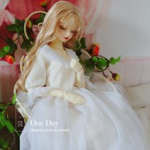 BJD doll zone Dress 1/4 Over 3 years old Customized Black, white Six / big six, four, three