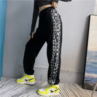 Casual pants Black, gray S,M,L Winter 2020 trousers Straight pants High waist routine 18-24 years old 31% (inclusive) - 50% (inclusive) Polypropylene fiber cotton