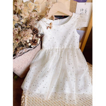 Dress female Other / other Cotton 100% summer princess Skirt / vest stars cotton A-line skirt 2, 3, 4, 5, 6, 7, 8, 9, 10 years old Chinese Mainland