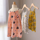 Dress 803641 ginger yellow flower suspender skirt, 803641 pink flower suspender skirt, 803641 semi white flower suspender skirt, 803641 green flower suspender skirt female Good products for bathing 90 by height, 100 by height, 110 by height, 120 by height, 130 by height, 140 by height Other 100%