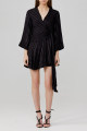 Dress Spring 2020 black 2 4 6 Mid length dress 18-24 years old Significant Other SH200133D BLACK More than 95% other Viscose (viscose) 100% Same model in shopping mall (sold online and offline)