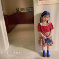 suit Other / other 2-piece suit 100cm,110cm,120cm,130cm,140cm female summer Korean version Short sleeve + skirt 2 pieces routine There are models in the real shooting Socket nothing Broken flowers other children birthday Three, four, five, six, seven, eight, nine, ten, eleven, twelve