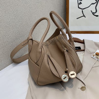 Bag The single shoulder bag PU other Wei Wei brand new Japan and South Korea Small leisure time soft Buckle no Solid color Single root One shoulder cross carry nothing youth other Sewing Soft handle polyester fiber mobile phone bag soft surface
