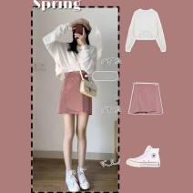 Fashion suit Autumn 2020 S,XL,L,M white 18-25 years old 51% (inclusive) - 70% (inclusive)