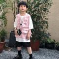 Vest neutral Pink 100cm,110cm,120cm,130cm,140cm,150cm Discover blue routine polyester fiber 200405FZ Chinese Mainland 2 years old, 4 years old, 3 years old, 6 years old, 5 years old, 8 years old, 7 years old, 9 years old, 10 years old