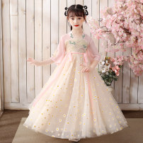 Hanfu other Seven, eight, three, five, six, four, ten, nine other Chinese style female Pink A029920010 Other 110,120,130,140,150,160