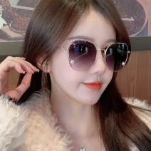 Sun glasses female circular PC Less than 100 yuan MaoMao Mirror cloth Anti UVA The frame is tight Zhejiang Others 21-39g (conventional) no 55mm (including) - 64mm (excluding)