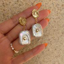 Earrings Alloy / silver / gold 101-200 yuan female
