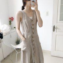 Dress Summer 2020 light khaki  XS,S,M,L