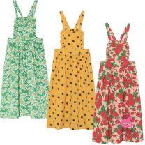 Dress Dot, rose, Daisy female The Animals Observatory 2y,3y,4y,6y,8y,10y,12y Cotton 100% 2, 3, 4, 5, 6, 7, 8, 9, 10, 11, 12 years old