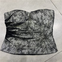 Vest sling Spring 2021 black S,M,L singleton  31% (inclusive) - 50% (inclusive) Other / other Lace