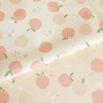Fabric / fabric / handmade DIY fabric cotton #1-pink background - 1086272 -- 110cm * 45cm, 2-WHITE background - 1086272 -- 110cm * 45cm Loose shear piece Plants and flowers printing and dyeing clothing Japan and South Korea cottonvill 100% the republic of korea