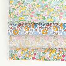 Fabric / fabric / handmade DIY fabric cotton #17345a blue - 146x45cm, # 17345b - Mint - 146x45cm, # r17334a - Green - 146x45cm, # r17334a2 - Green - 146x45cm Loose shear piece Plants and flowers printing and dyeing clothing Japan and South Korea JZ 100% the republic of korea