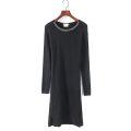 Dress Spring of 2019 black 150,155,160,165