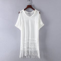 Lace / Chiffon Spring 2021 white 155160155 yellowing, 155 stains