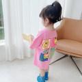 Dress Purple, rose female Other / other 80cm,90cm,100cm,110cm,120cm,130cm Other 100% summer Korean version Skirt / vest Cartoon animation other A-line skirt 12 months, 6 months, 9 months, 18 months, 2 years old, 3 years old, 4 years old, 5 years old, 6 years old, 7 years old Chinese Mainland Hangzhou