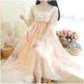 Dress Summer of 2019 Picture color, {collect and buy antique fans for customer service} S,M,L,XL,2XL,3XL,4XL,5XL Mid length dress singleton  Short sleeve commute High waist Others 18-24 years old Type A Other / other Retro