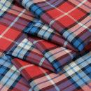 Fabric / fabric / handmade DIY fabric cotton Decor Loose shear piece Geometric pattern Yarn dyed weaving clothing Europe and America SXQ 100% 415-1