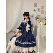 Lolita / soft girl / dress Original design of white bird L,M,S,XL Pre sale