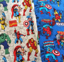 Fabric / fabric / handmade DIY fabric cotton Blue, yellow Europe and America foreign trade 100%