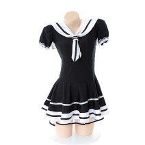 Cosplay women's wear skirt goods in stock Over 14 years old black comic Average size Japan Campus style A cat