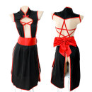 Cosplay women's wear suit goods in stock Over 14 years old Red + Black original Wu Yimei A cat 80-120 Jin