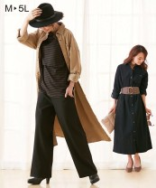 Dress Other / other Black, army green, camel Other sizes leisure time Long sleeves have more cash than can be accounted for autumn other Solid color Pure cotton (95% and above) M-7180