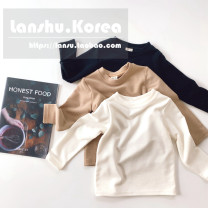 T-shirt Other / other S,M,L,XL,JS,JM,JL neutral spring and autumn Long sleeves Crew neck leisure time Official pictures other Solid color