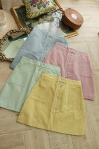 skirt Summer 2020 4,6,8 Pink, yellow, blue, green, green problem to see the picture does not return or change 1, blue problem to see the picture does not return or change 2
